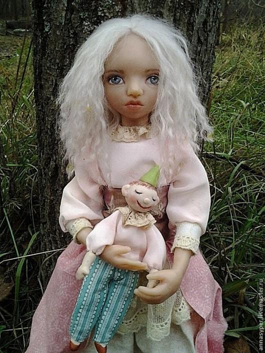 Коллекционные куклы ручной работы. Ярмарка Мастеров - ручная работа. Купить Бетти.Карамельная принцесса.. Handmade. Розовый, подарок, шёлк