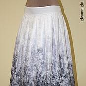 Одежда ручной работы. Ярмарка Мастеров - ручная работа Батистовая юбка. Handmade.