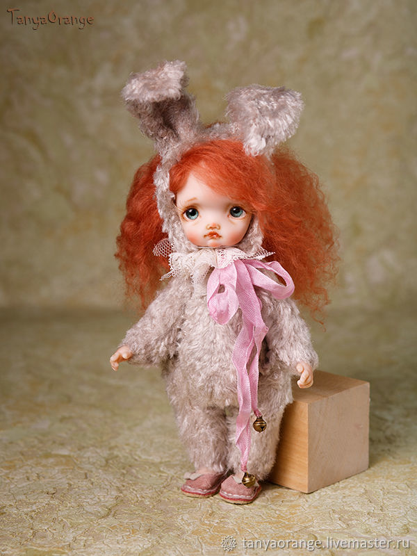 Teddy-doll Bunny, Dolls, Nizhny Novgorod,  Фото №1