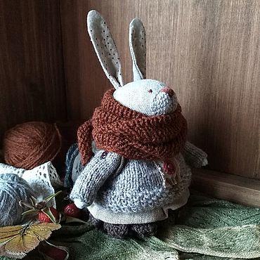 """Куклы и игрушки ручной работы. Ярмарка Мастеров - ручная работа Заяц. """"Осень. Карелия"""".. Handmade."""