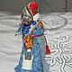 Народные куклы ручной работы. Ярмарка Мастеров - ручная работа. Купить Столбушка новгородская. Handmade. Голубой, новгородская кукла, береста