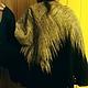 """Пончо ручной работы. Ярмарка Мастеров - ручная работа. Купить пончо """" Крыло черной птицы """". Handmade. Валяние"""