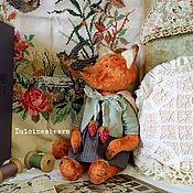 Куклы и игрушки ручной работы. Ярмарка Мастеров - ручная работа Лисичка Люси. Handmade.