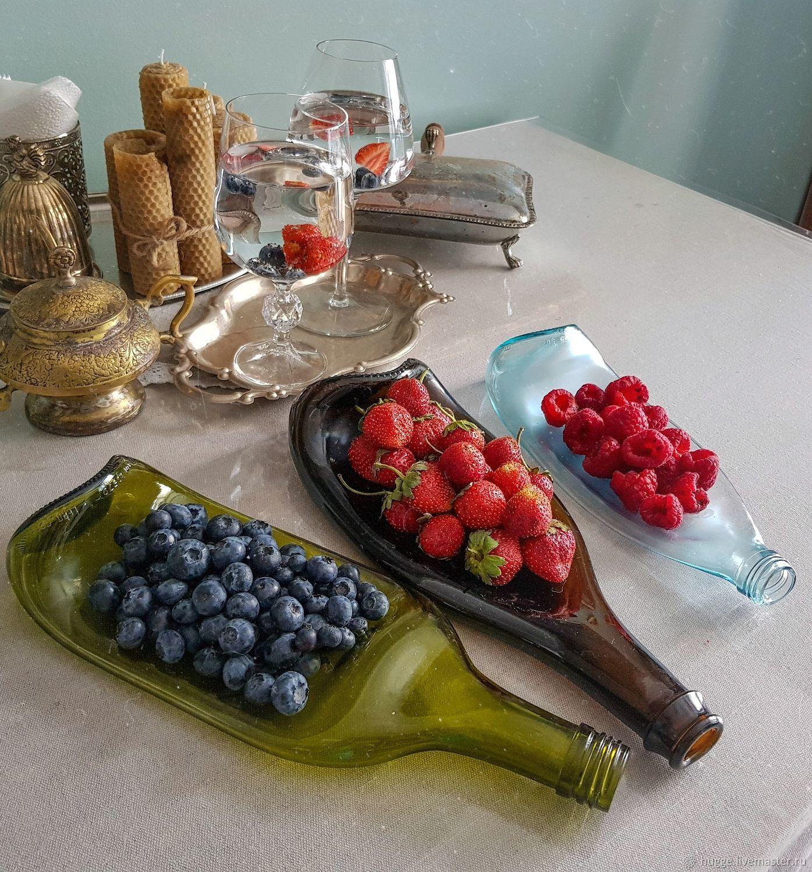 ПОДАРОК МАМЕ: тарелка-бутылка, Утварь, Москва,  Фото №1
