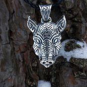 "Украшения handmade. Livemaster - original item Pendant ""Vepr"" sterling silver. Handmade."