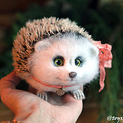 Куклы и игрушки handmade. Livemaster - original item Chubby big hedgehog. Handmade.