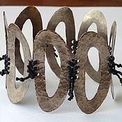 Украшения ручной работы. Ярмарка Мастеров - ручная работа Браслет из мельхиора. Handmade.