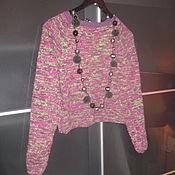 Одежда ручной работы. Ярмарка Мастеров - ручная работа укороченный джемпер Бурлеск. Handmade.