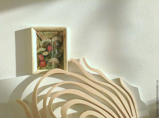 Время травостоя. Авторский принт холст с акварельной работы. Серия Таинственный сад. Сказка в теплоте рук Коневой Алёны.