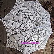 Аксессуары handmade. Livemaster - original item Knitted umbrella