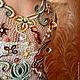 """Платья ручной работы. Ярмарка Мастеров - ручная работа. Купить Платье """"Рассвет"""". Handmade. Цветочный, ирландские кружева, платье на выпускной"""