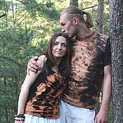 T-shirts handmade. Livemaster - original item T-shirt men