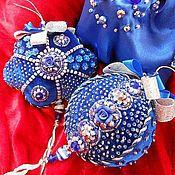 """Подарки к праздникам ручной работы. Ярмарка Мастеров - ручная работа елочные игрушки """"зимняя роза"""". Handmade."""