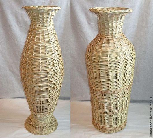 Vases handmade. Livemaster - handmade. Buy Vase outdoor.Vase, netting