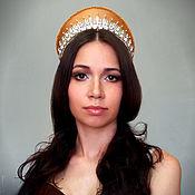 Украшения handmade. Livemaster - original item Tiara of Grand Duchess Olga Alexandrovna. Handmade.