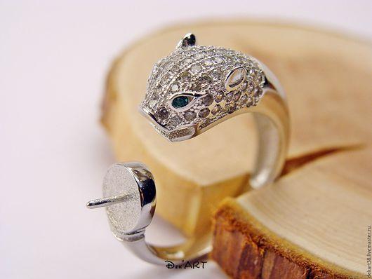 Для украшений ручной работы. Ярмарка Мастеров - ручная работа. Купить Основа для кольца серебро 925 пробы Арт. ОК92522. Handmade.