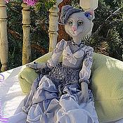 Куклы и игрушки ручной работы. Ярмарка Мастеров - ручная работа Валяная Кошка Беатрисса - авторская кукла. Handmade.