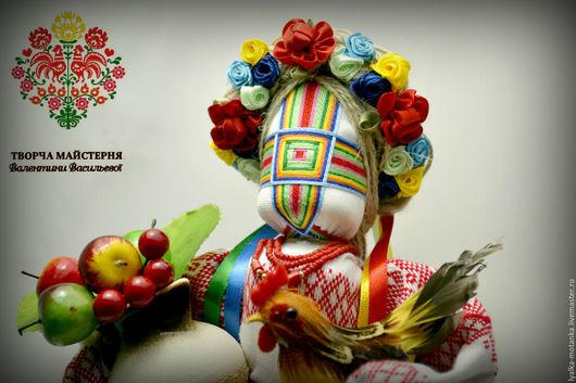 Народные куклы ручной работы. Ярмарка Мастеров - ручная работа. Купить ГАРНА ГОСПОДИНЯ. Handmade. Комбинированный, кукла интерьерная