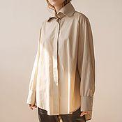 Одежда handmade. Livemaster - original item Women`s shirt Louvre. Handmade.