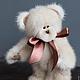 """Мишки Тедди ручной работы. Ярмарка Мастеров - ручная работа. Купить мишка """"Пралине"""". Handmade. Бежевый, медведь тедди"""