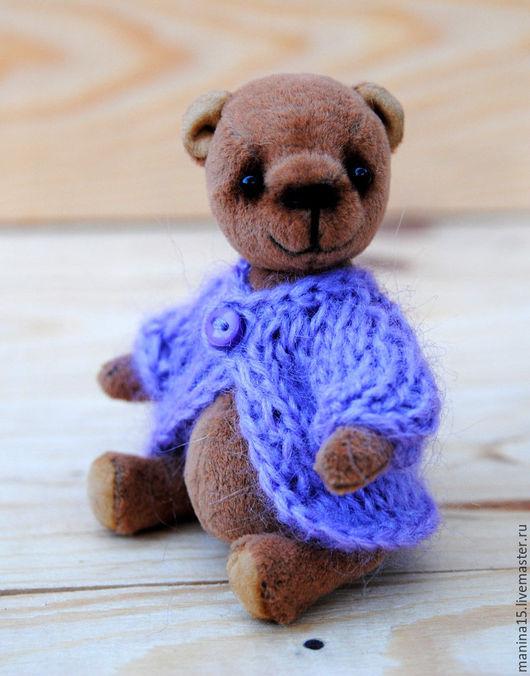 Мишки Тедди ручной работы. Ярмарка Мастеров - ручная работа. Купить Скай. Handmade. Коричневый, мишка-тедди, синтепон