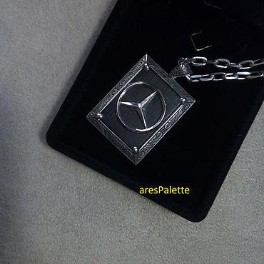 Украшения ручной работы. Ярмарка Мастеров - ручная работа Mercedes Benz Special Edition Necklace. Handmade.