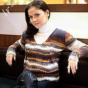 """Одежда ручной работы. Ярмарка Мастеров - ручная работа Пуловер """"Янтарь"""". Handmade."""