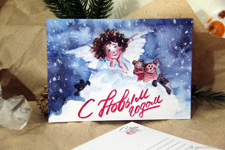Продажа новогодние открытки, сделать