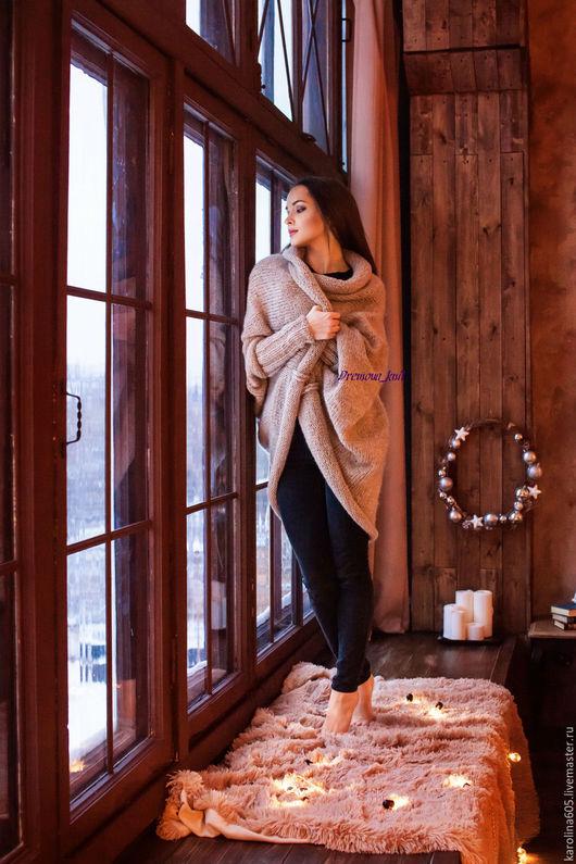 """Кофты и свитера ручной работы. Ярмарка Мастеров - ручная работа. Купить Кардиган """"Пиковая дама"""" длинный. Handmade. Кардиган"""