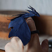 Куклы и игрушки ручной работы. Ярмарка Мастеров - ручная работа Сапфировый дракон. Handmade.