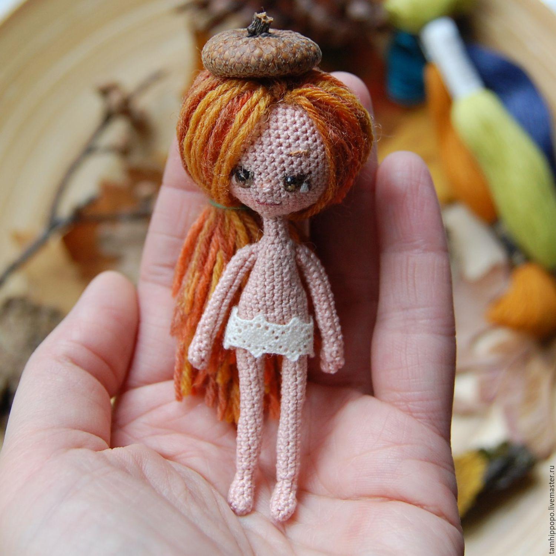 Вяжем крючком маленьким куклами 69