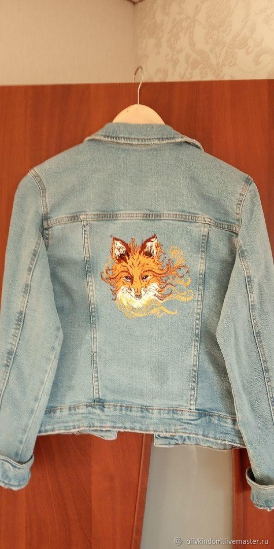 Вышивка на джинсовках, Куртки, Омск, Фото №1