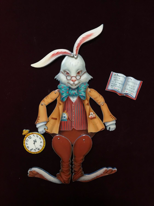 Шарнирная кукла «Белый кролик», Шарнирная кукла, Дзержинск, Фото №1