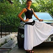Одежда handmade. Livemaster - original item Stroinaia, yoke, Afghani (zouaves)