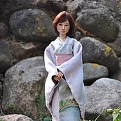 Куклы и игрушки ручной работы. Ярмарка Мастеров - ручная работа Шарнирная фарфоровая кукла, молд Юки. Handmade.