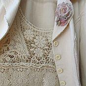 Одежда ручной работы. Ярмарка Мастеров - ручная работа Жакет в стиле городской бохо. Handmade.