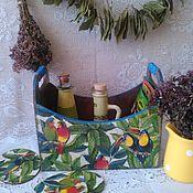 Для дома и интерьера ручной работы. Ярмарка Мастеров - ручная работа Короб для хранения специй, овощей и разных нужностей). Handmade.