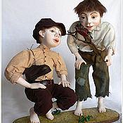 """Куклы и игрушки ручной работы. Ярмарка Мастеров - ручная работа Фарфоровые куклы. """"Ребятня"""". Handmade."""