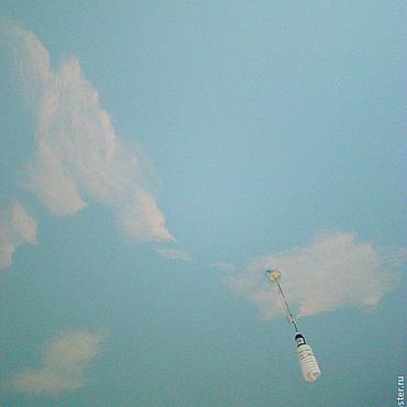 """Для дома и интерьера ручной работы. Ярмарка Мастеров - ручная работа Роспись потолка """"Небо"""". Handmade."""