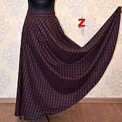 """Одежда ручной работы. Ярмарка Мастеров - ручная работа Теплая юбка """"Шотландка"""". Handmade."""