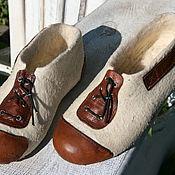 Обувь ручной работы handmade. Livemaster - original item Sneaker Retro. Handmade.