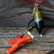 Украшения handmade. Livemaster - original item Kit pendants are