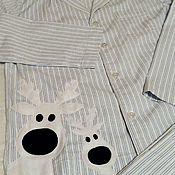 Одежда handmade. Livemaster - original item Pajamas for dad. Handmade.