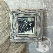 """Картины и панно ручной работы. Ярмарка Мастеров - ручная работа деревянное панно """"Русские мотоциклисты"""". Handmade."""