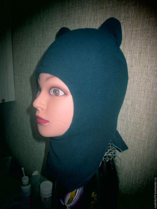 Одежда для мальчиков, ручной работы. Ярмарка Мастеров - ручная работа. Купить Шапка-шлем из флиса осень-зима-весна. Handmade.