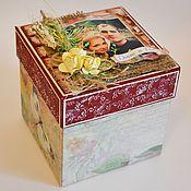 Сувениры и подарки ручной работы. Ярмарка Мастеров - ручная работа Коробочка Magic box Свадьба Экостиль. Handmade.