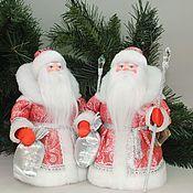 Народная кукла ручной работы. Ярмарка Мастеров - ручная работа Дед Мороз под елочку.. Handmade.