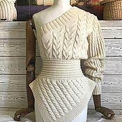 Одежда ручной работы. Ярмарка Мастеров - ручная работа Свитер с одним рукавом. Handmade.