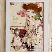 Для дома и интерьера ручной работы. Ярмарка Мастеров - ручная работа Любимая кукла. Handmade.