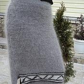 Одежда ручной работы. Ярмарка Мастеров - ручная работа Юбка зимняя пуховая. Handmade.